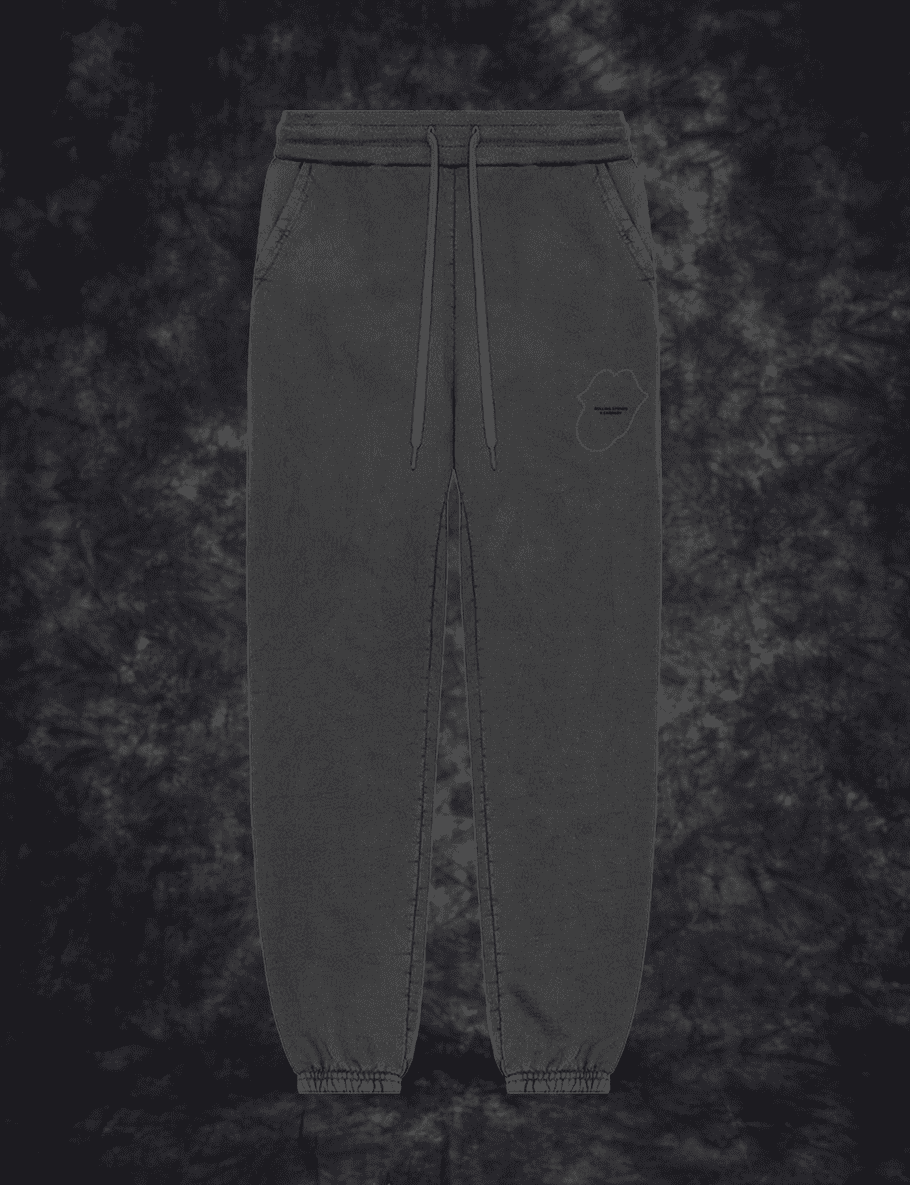 No9 Tongue Outline Embroidered Sweatpants